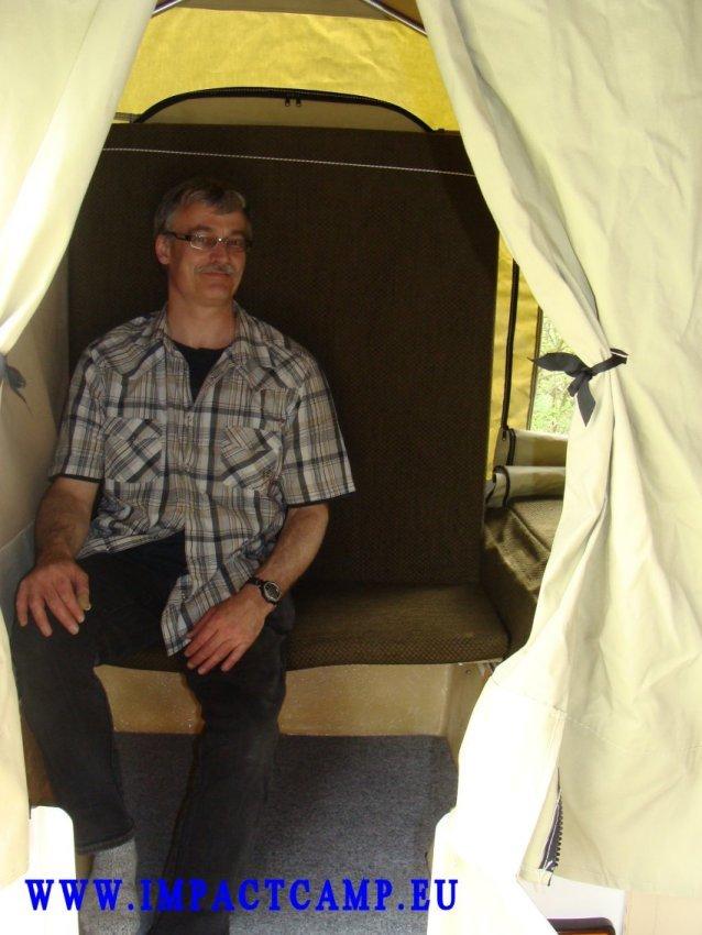 Mini Camp's bankje
