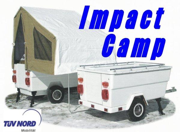 mini camp la caravane pliante pour votre confort au camping impact camp. Black Bedroom Furniture Sets. Home Design Ideas