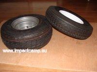 acht inch wielen en banden