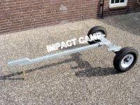 Ongeremd aanhangwagen chassis