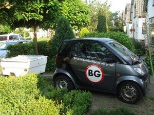 Smart avec Mini Camping car